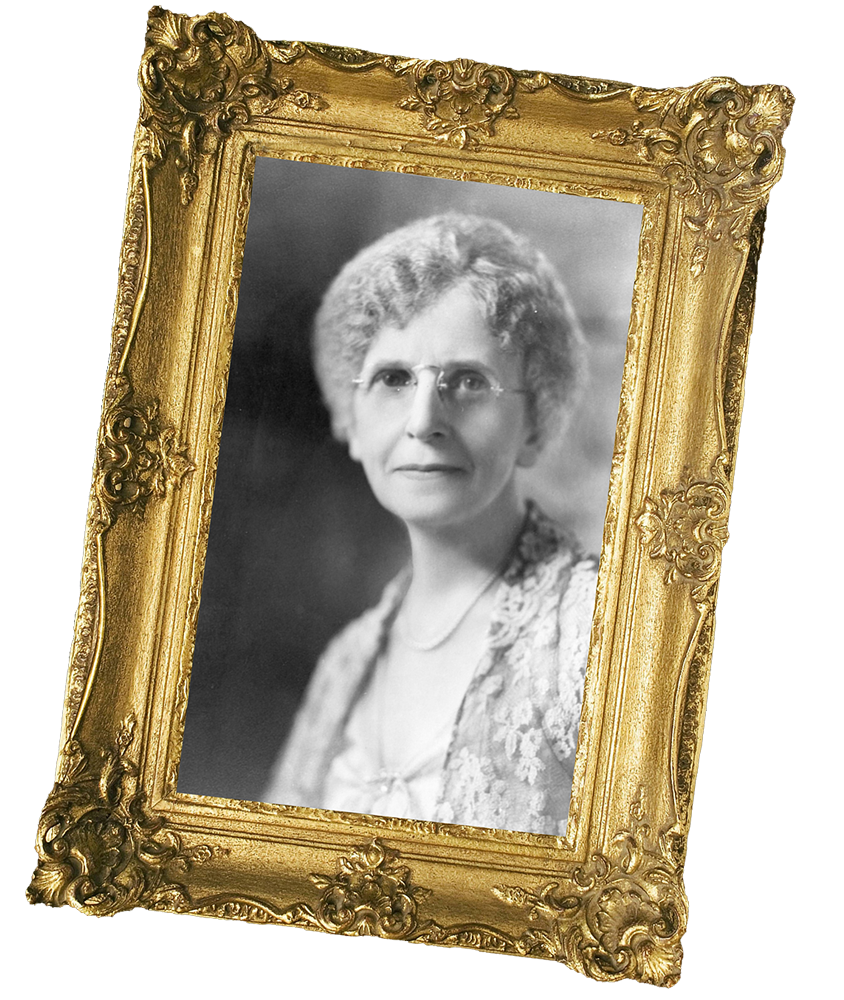 Framed photo of Grace A, Dow