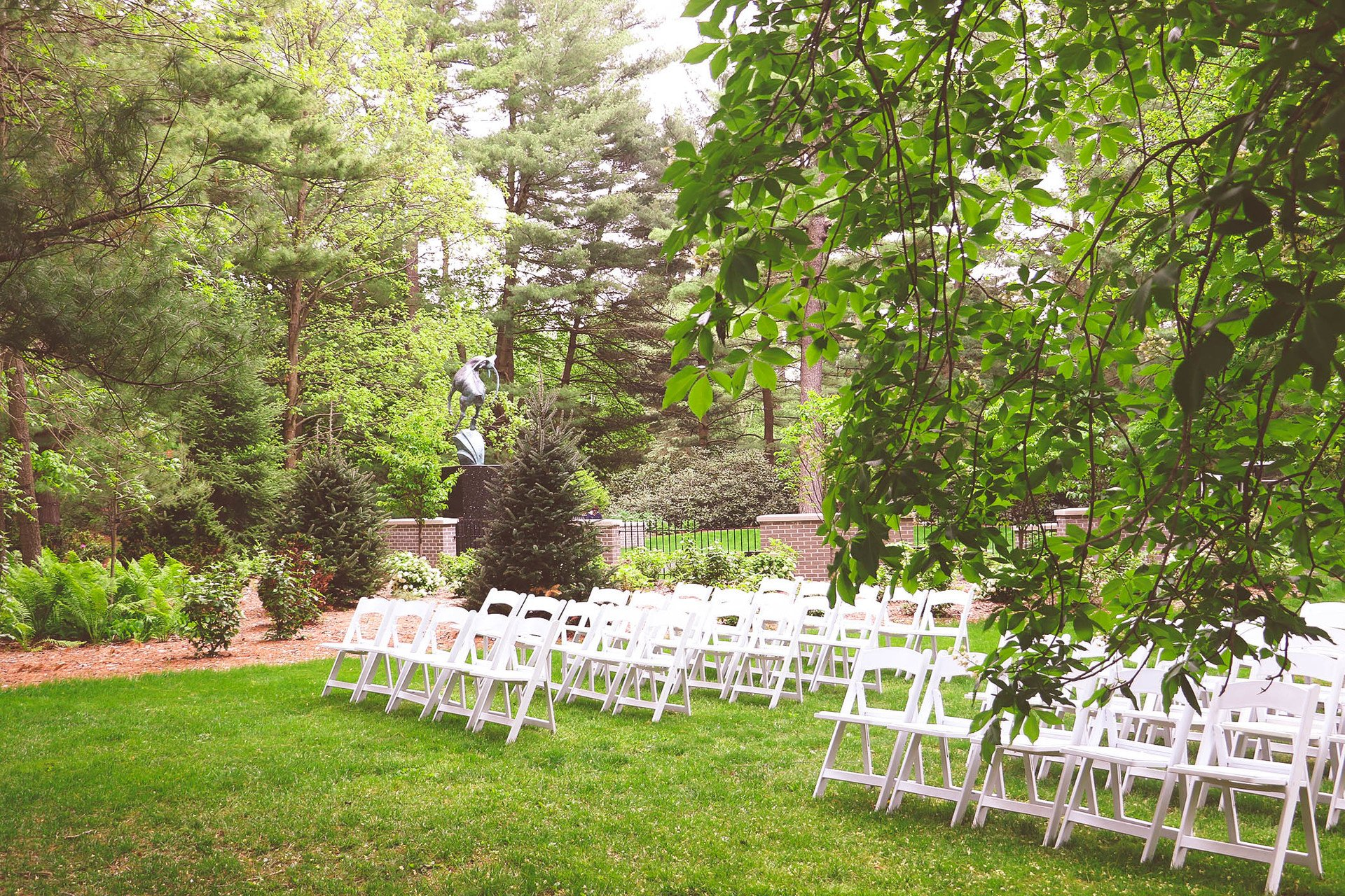 White Chairs outside