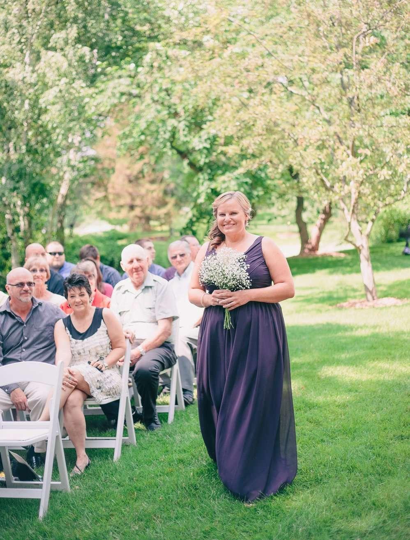 Wedding Ceremony at Dow Gardens