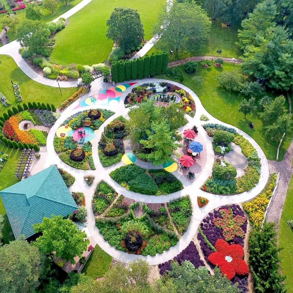 Aerial of Children's Garden
